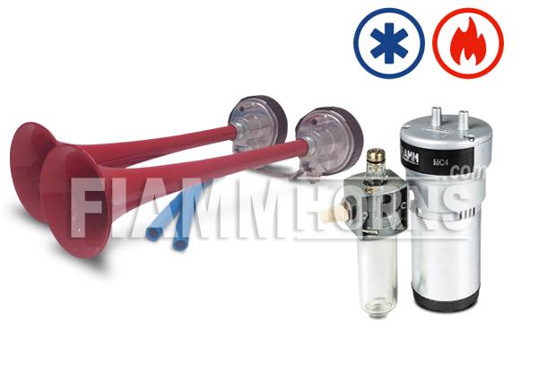 Italy | Ambulance - Fire Brigade (Pneumatic)
